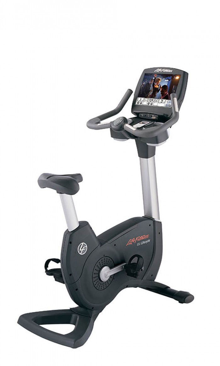 Upright Bikes Airdynes Life Fitness 95c Engage Lifecycle