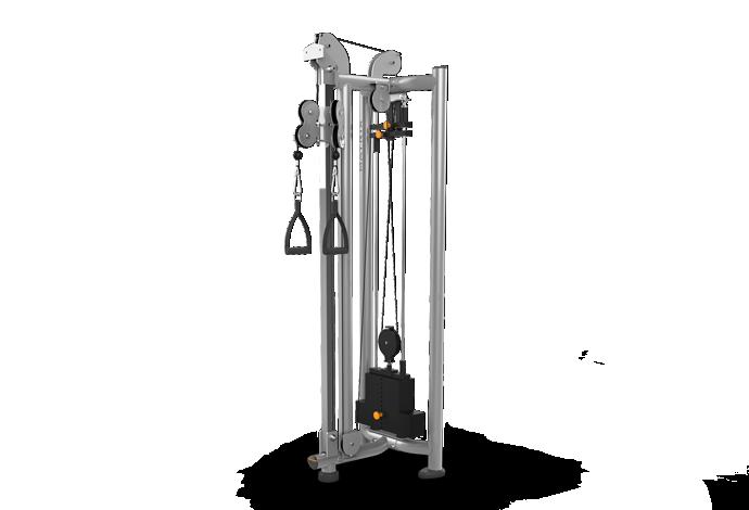 Adjustable Pulleys : Functional matrix fitness dual adjustable pulley mg dp powered by soolis