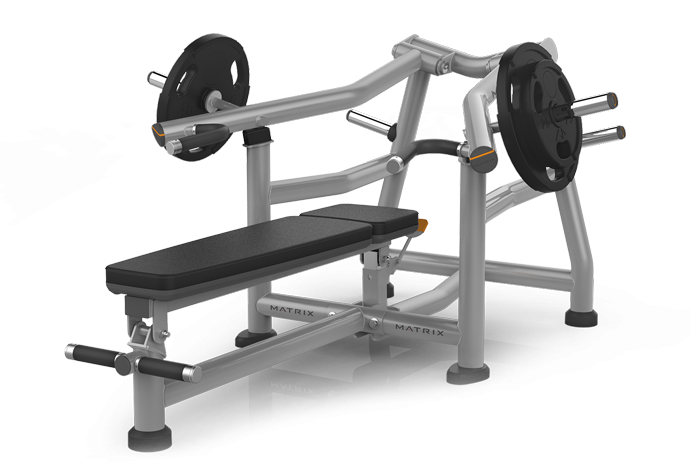 Plate Loaded Matrix Fitness Magnum Series Supine Bench Press Mg A416 Powered By Soolis